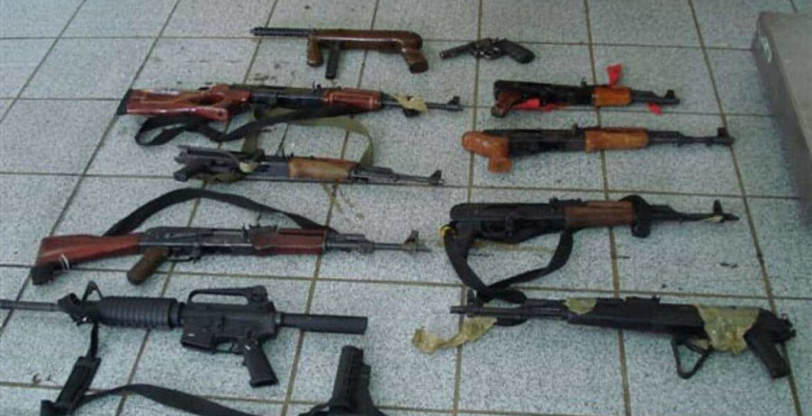 Romanian weapons modified in the U S  become scourge of