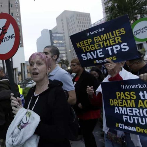Trump's TPS cancellations could lead more than 300,000 to become undocumented