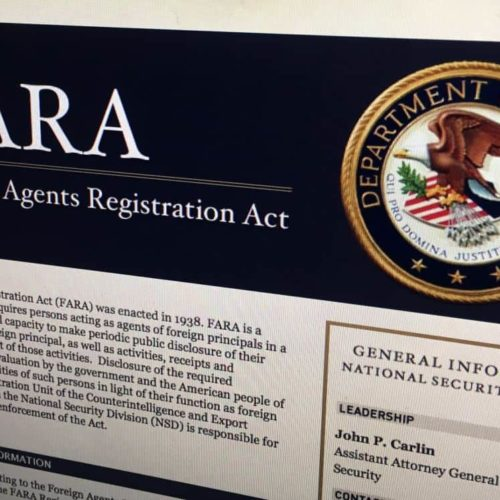What is FARA? Understanding the Foreign Agents ...