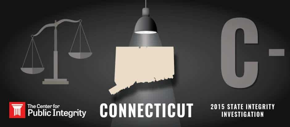 Connecticut gets C- grade in 2015 State Integrity Investigation