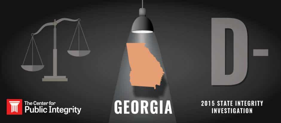 Georgia gets D- grade in 2015 State Integrity Investigation