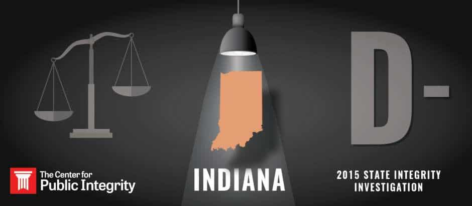 Indiana gets D- grade in 2015 State Integrity Investigation