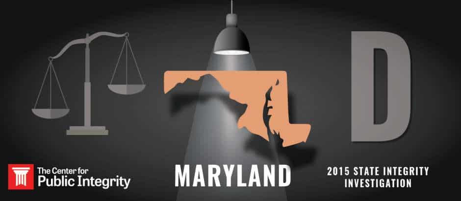 Maryland gets D grade in 2015 State Integrity Investigation