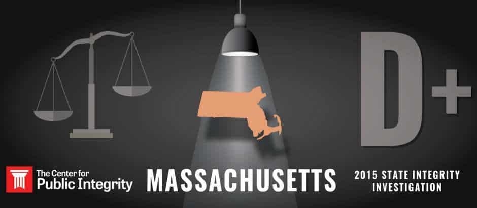 Massachusetts gets D+ grade in 2015 State Integrity Investigation