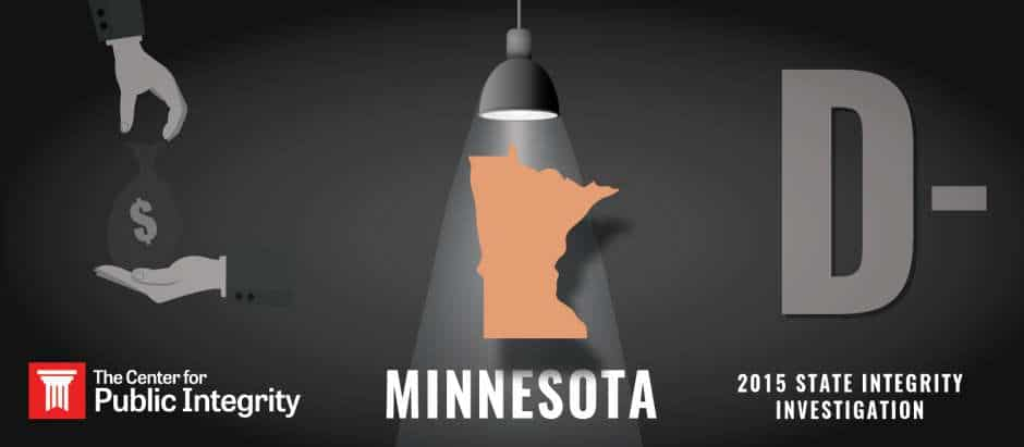 Minnesota Gets D Grade In 2015 State Integrity