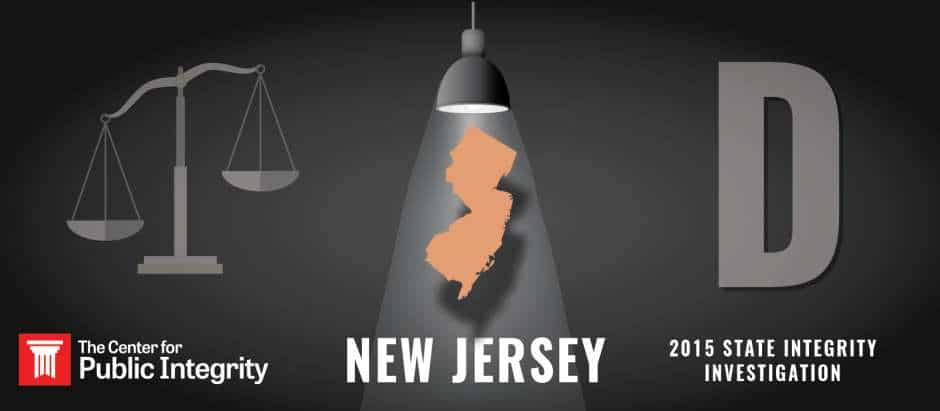 New Jersey gets D grade in 2015 State Integrity