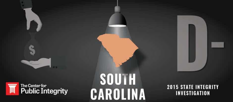 South Carolina gets D- grade in 2015 State Integrity