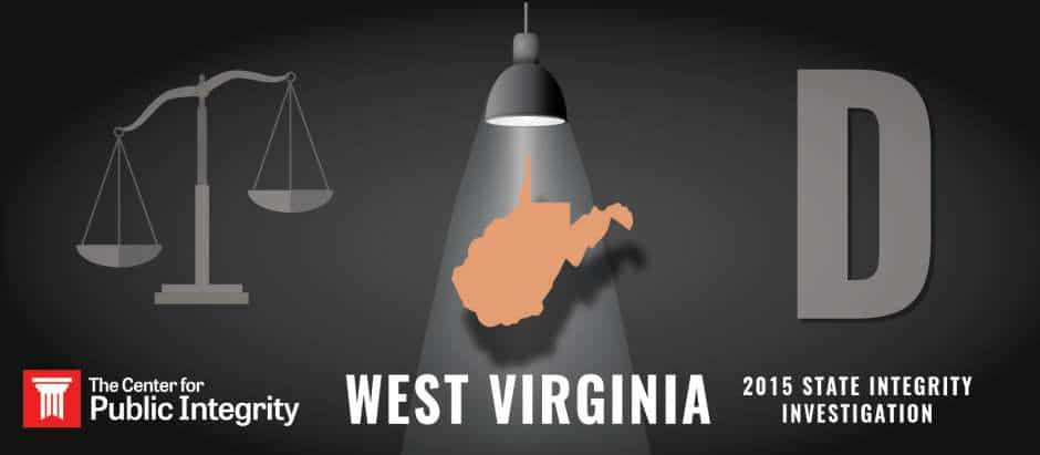 West Virginia gets D grade in 2015 State Integrity