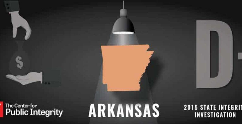 Arkansas gets D- grade in 2015 State Integrity Investigation