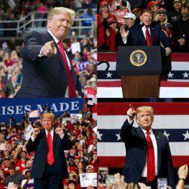 Trump campaign rallies