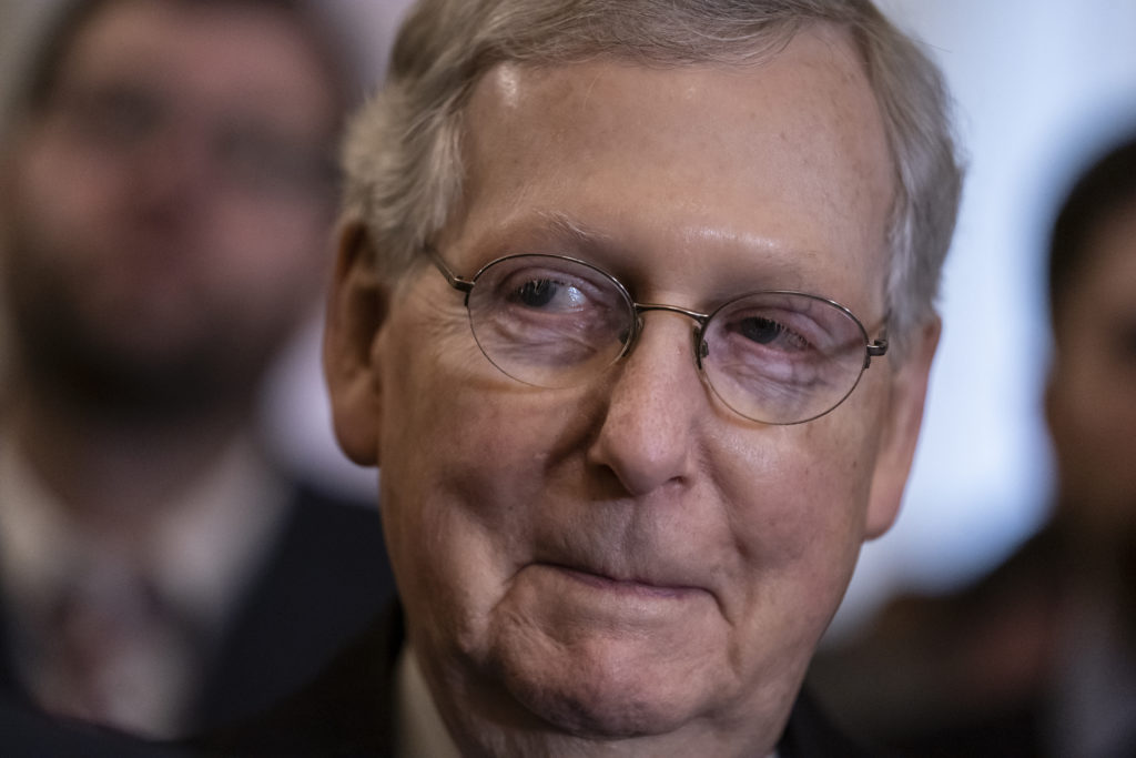 McConnell cashes in on 'Cocaine Mitch'