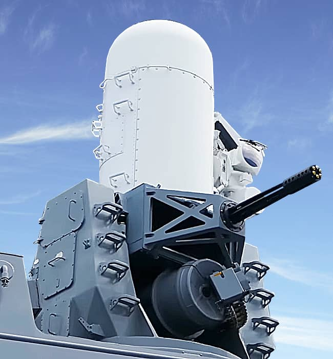 Phalanx Close-In Weapons System