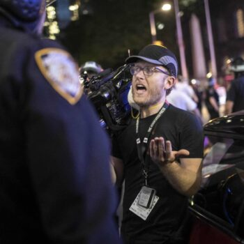 Journalist questioned by police