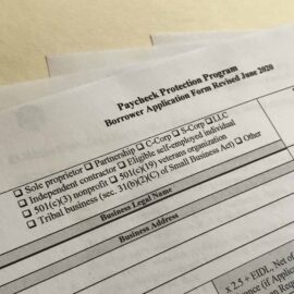 Paycheck Protection Program application forms