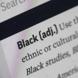 A screenshot of the Black entry in the AP stylebook