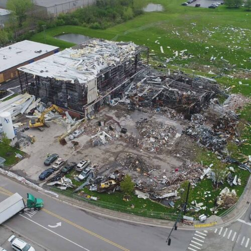 Chemical safety watchdog photo shows explosion at AB Specialty Silicones
