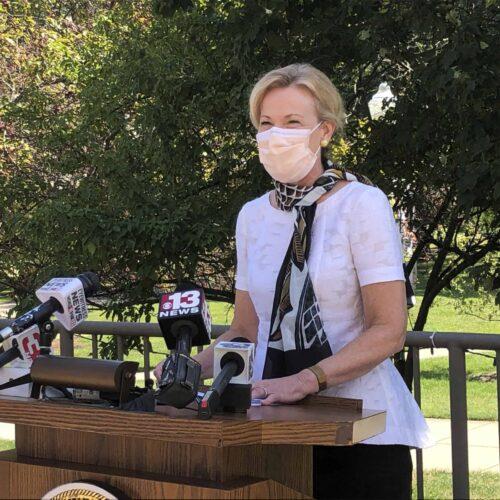 Doctor Deborah Birx recommended surge testing.