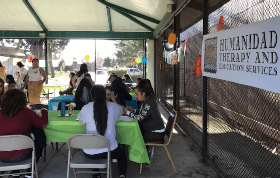 A community gathering to help Spanish-speaking residents process challenging events.