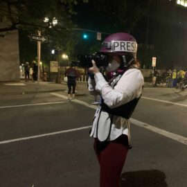 Eddy Binford Ross photographs protest