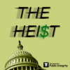 Heist logo showing the capitol tilted