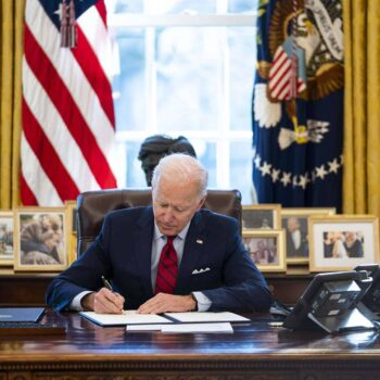 President Biden Signs Executive Orders On Health Care Access