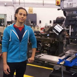 Chayanne Robles began his engineering career at Onondaga Community College in Syracuse, New York, in 2011. Robles went on to earn a bachelor's in mechanical engineering technology from the Rochester Institute